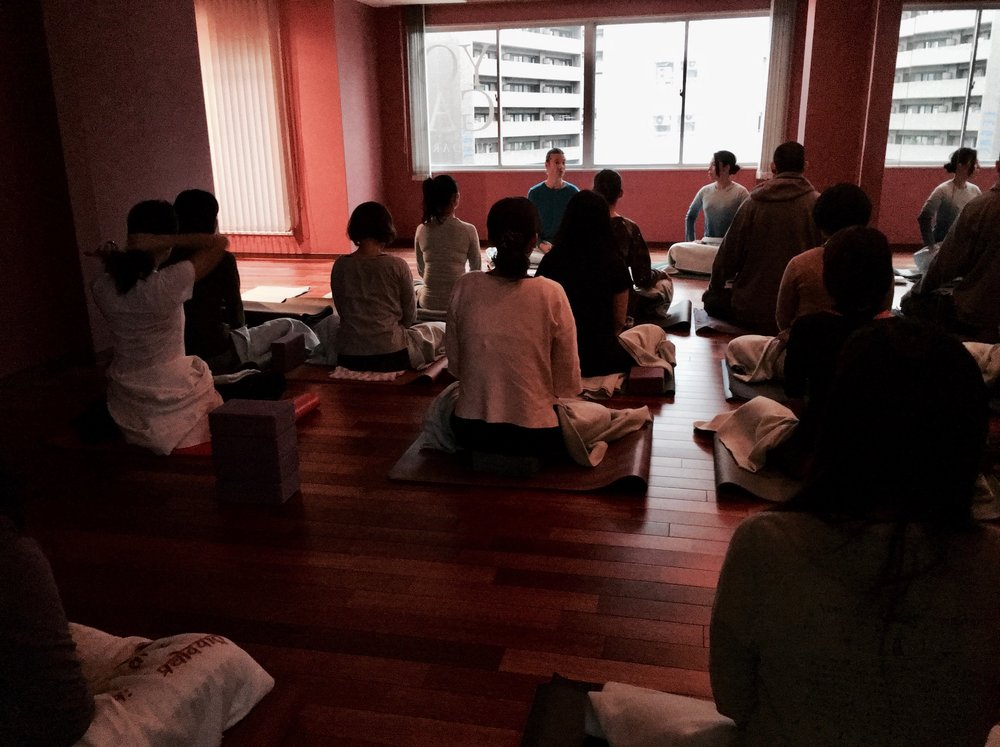 Pranayama & Meditation workshop, Kobe, Japan