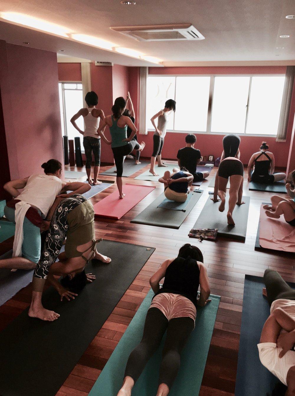 Mysore class in Kobe, Japan