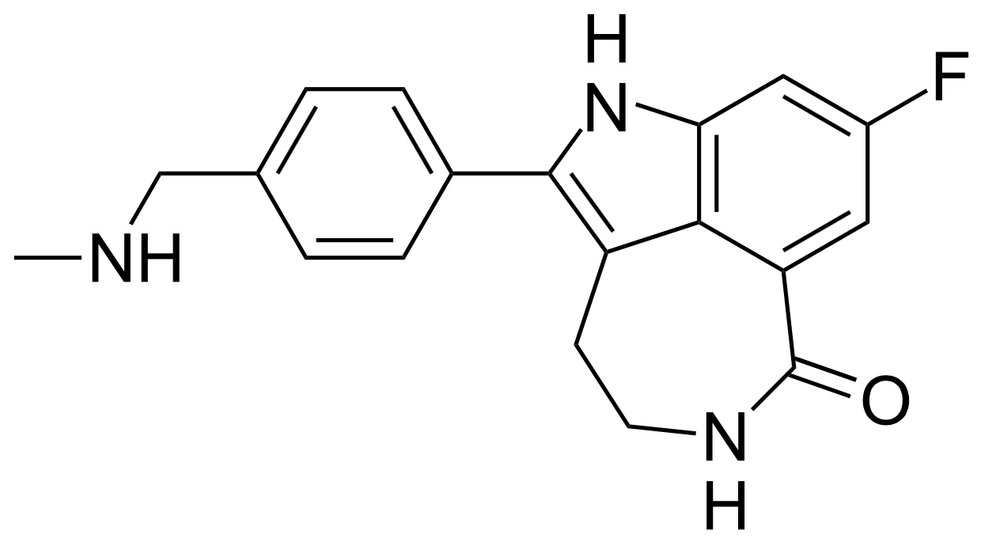 Molecular structure of Rucaparib