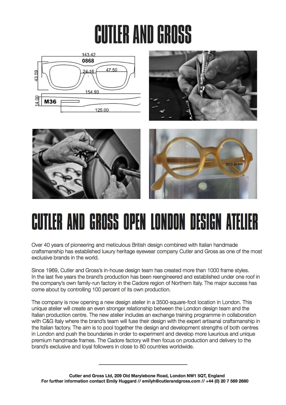 Atelier Press Release