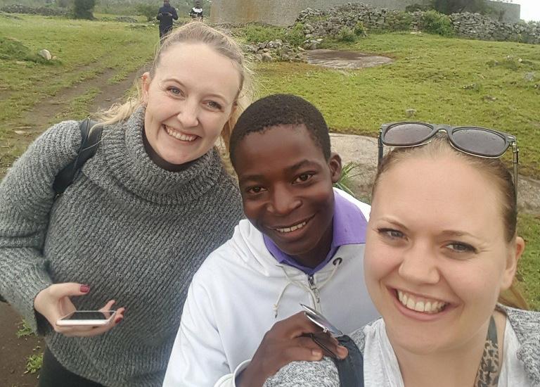 Brian starter på farmasøytstudiene på universitetet i Zambia i januar.