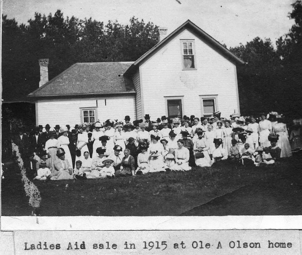 1915 Ladies Aid Sale at Ole A Olson Home.jpg