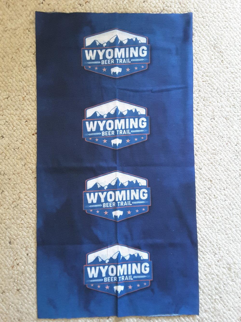 Wyoming Beer Trail Neck Gaiter