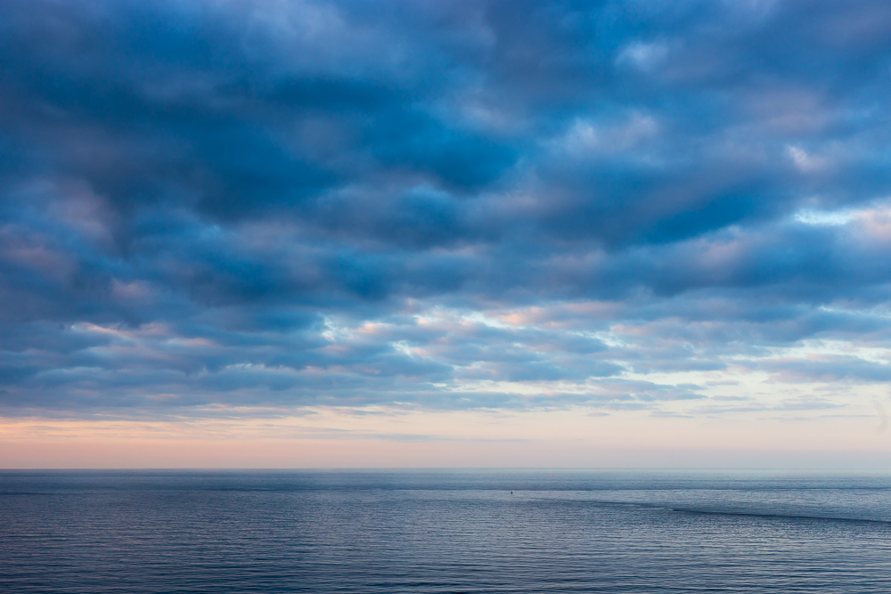 North Sea at Dusk