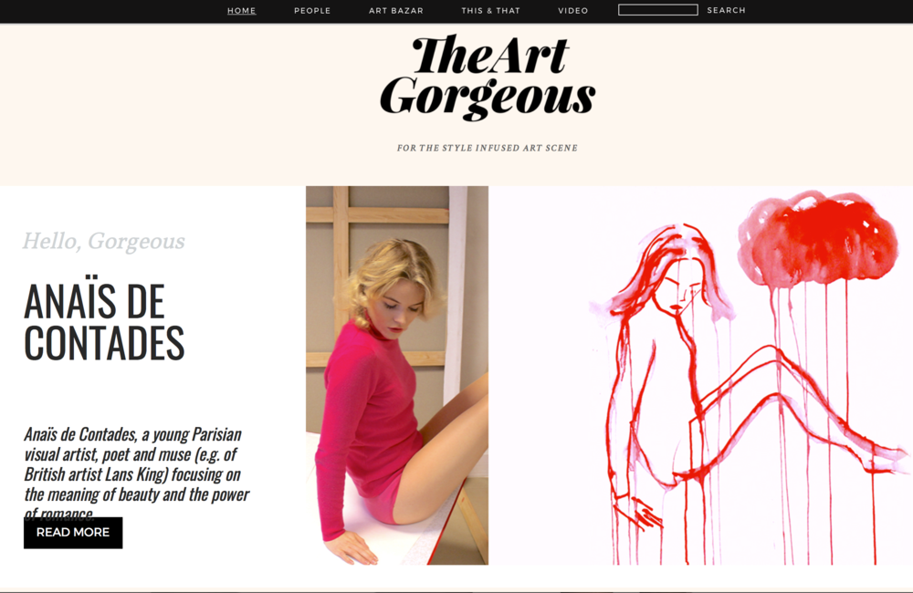 To read the article: http://www.theartgorgeous.com/style-talk-the-romantic-rebel/