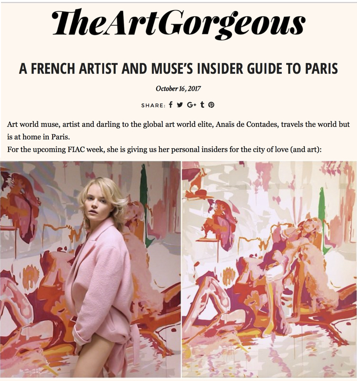 To read the article: http://www.theartgorgeous.com/french-artist-muses-insider-guide-paris/
