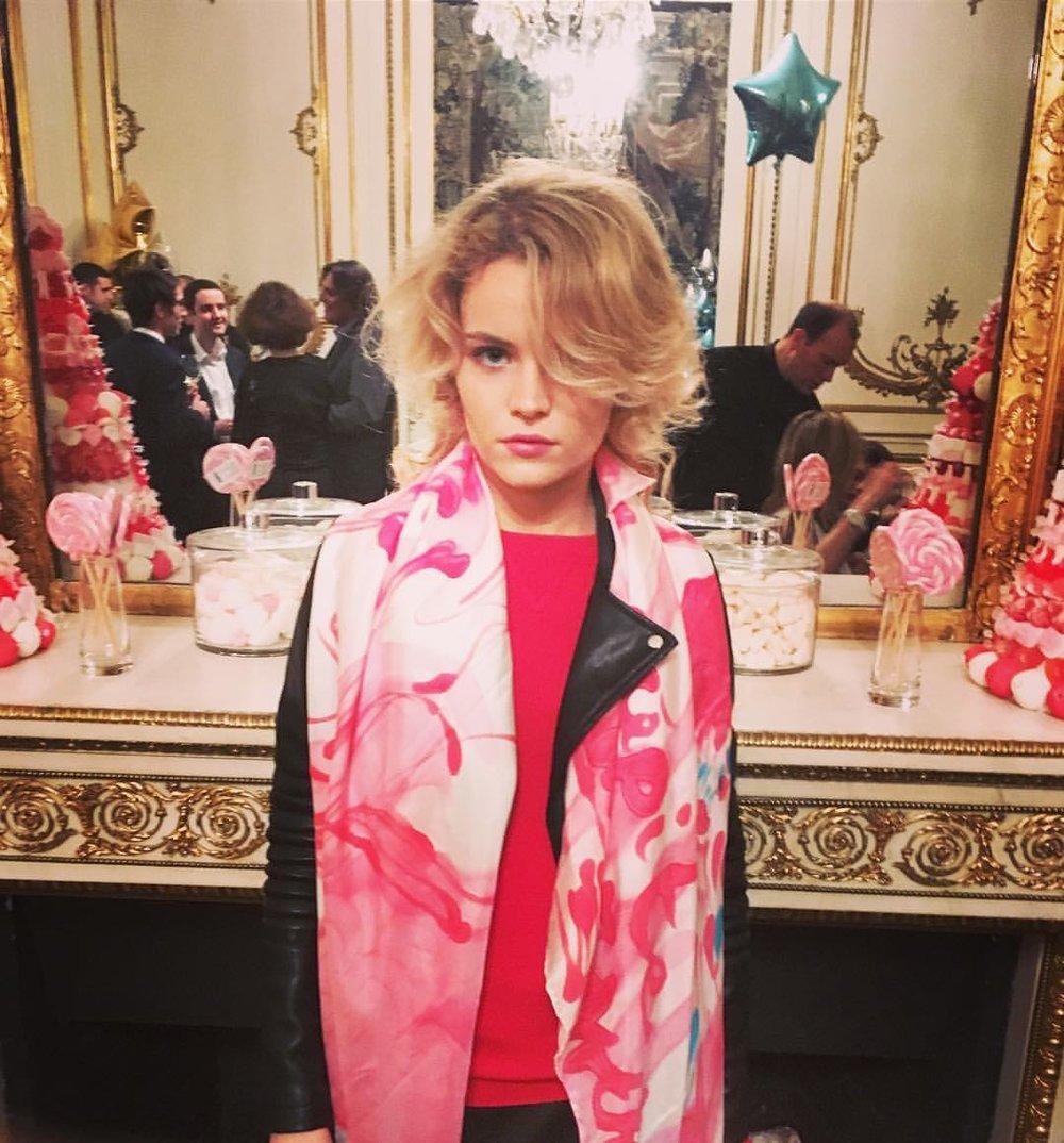 Anais de Contades at Dior Cocktail
