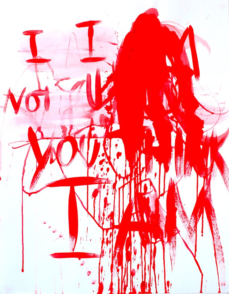 Anais de Contades - I am not... You think I am - Painting .jpg