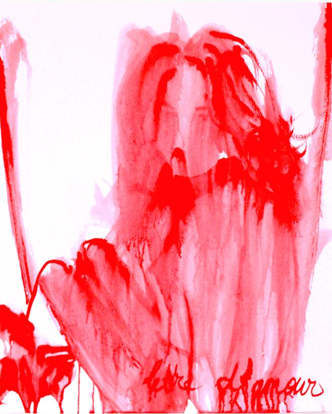 Anais de Contades - Lettre d'Amour - Painting .jpg