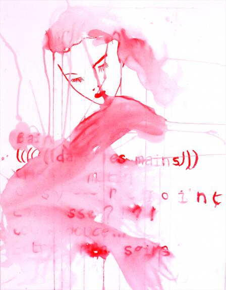 Anais de Contades - Bain dans tes mains - Painting .jpg