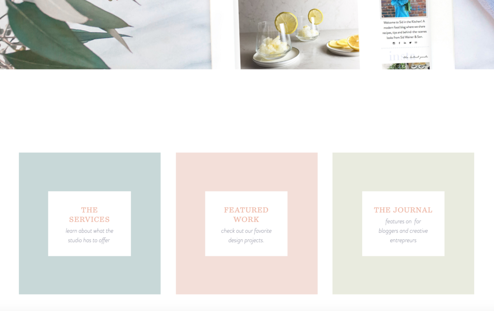 Creative Ways to Use Squarespace | One Image Slideshows