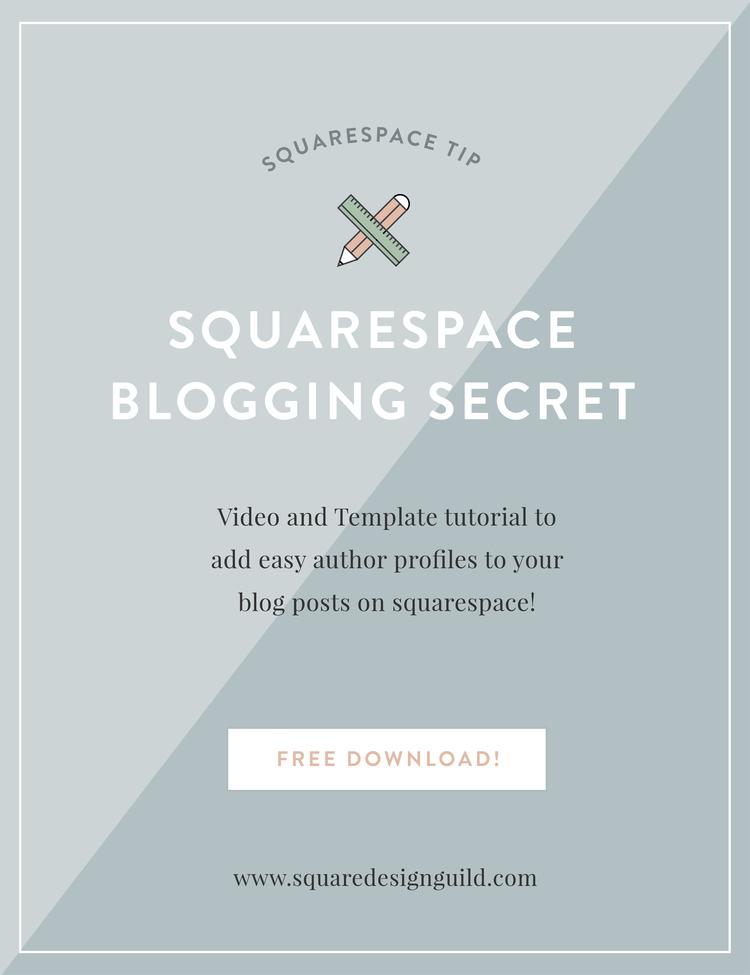 my favorite squarespace blogging secret plus freebie squarespace