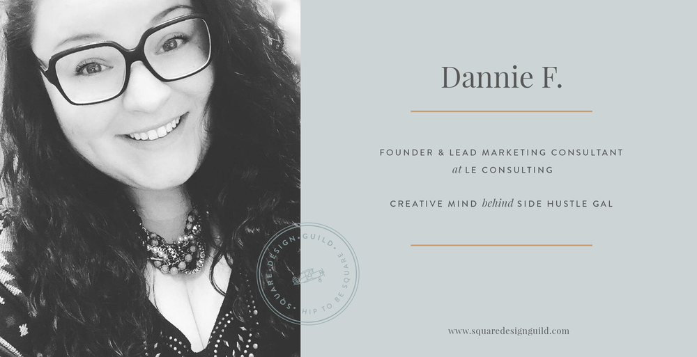 Squarespace Design Guild | Member Profile | Designer Interview | Dannie F from LE Consulting