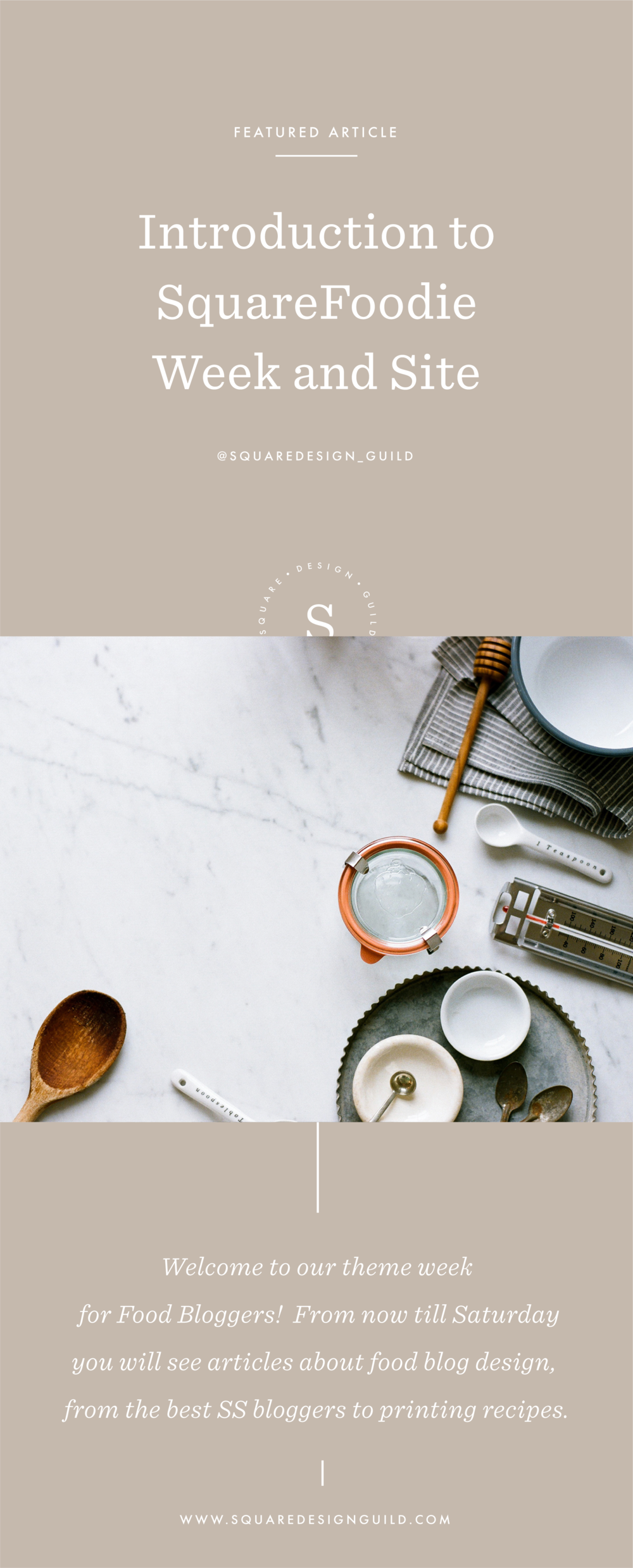 Food Blogging on Squarespace