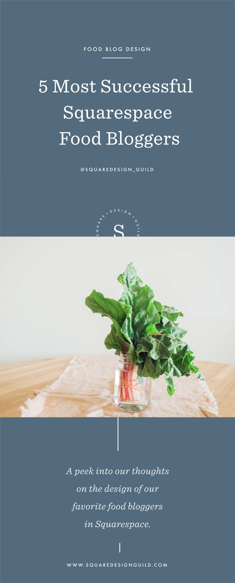 The Best Squarespace Food Bloggers