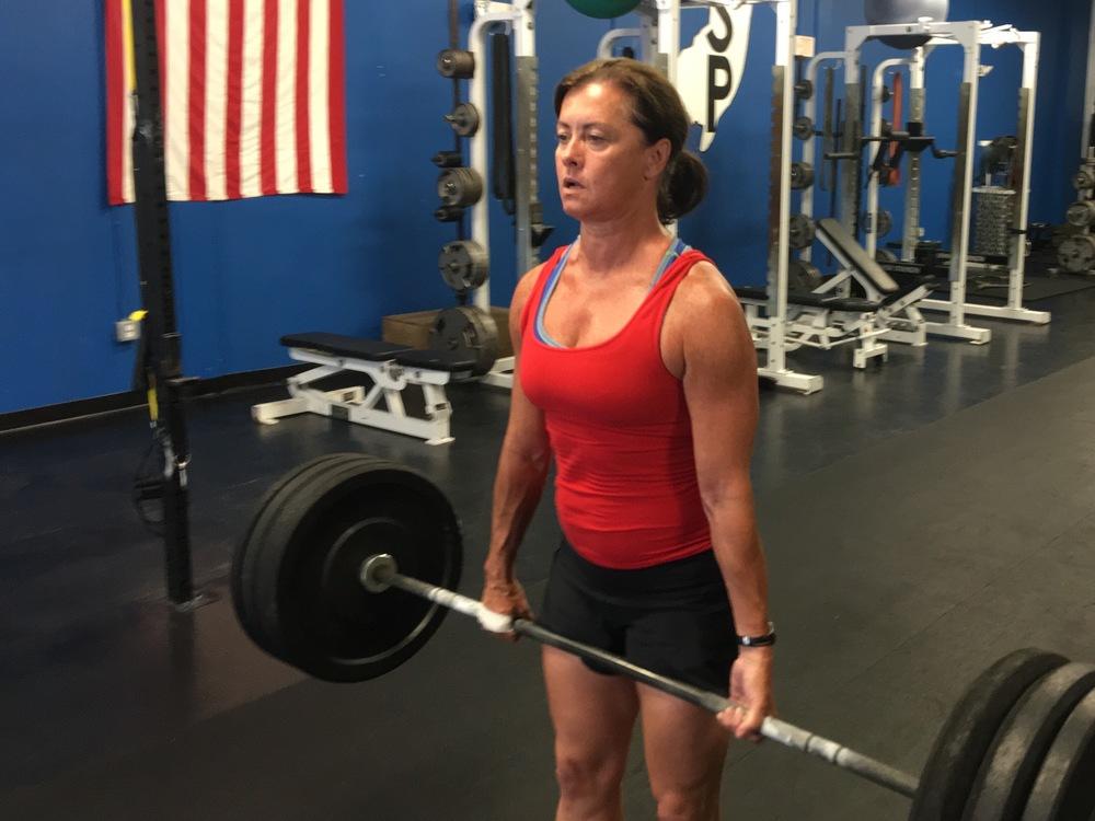 Anne deadlift CrossFit Annex