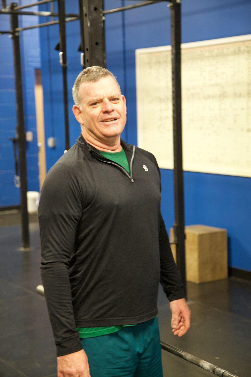 Sean Shallis at CrossFit Annex