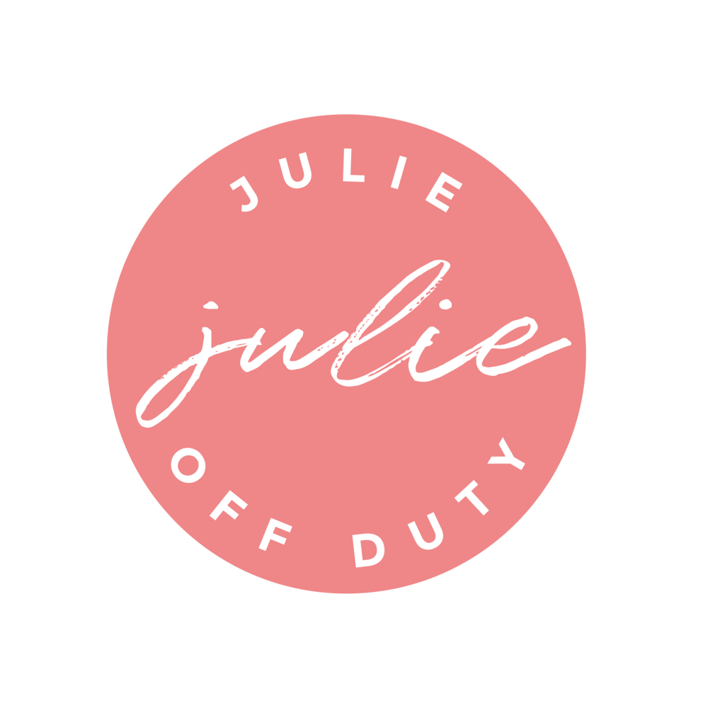 Julie off duty