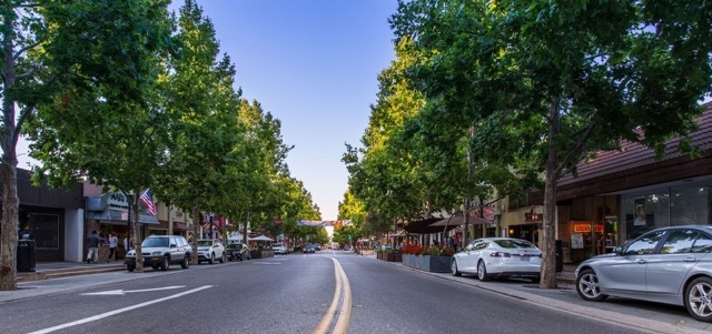 Castro Street, Downtown Mountain View, California