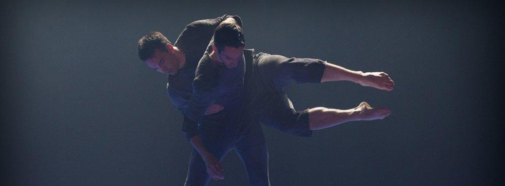 Performing in   SvartBlå   (2014) choreographed by Örjan Andersson, at Skånes Dansteater (Malmö, Sweden).
