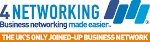 We are members of 4 Networking. Click Logo for More Details
