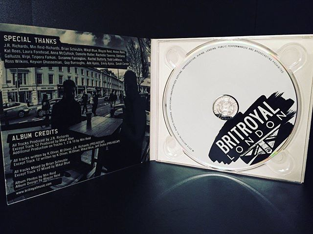 Grab the CD version of our new album 'London' exclusively at www.britroyalmusic.com 🎧📀