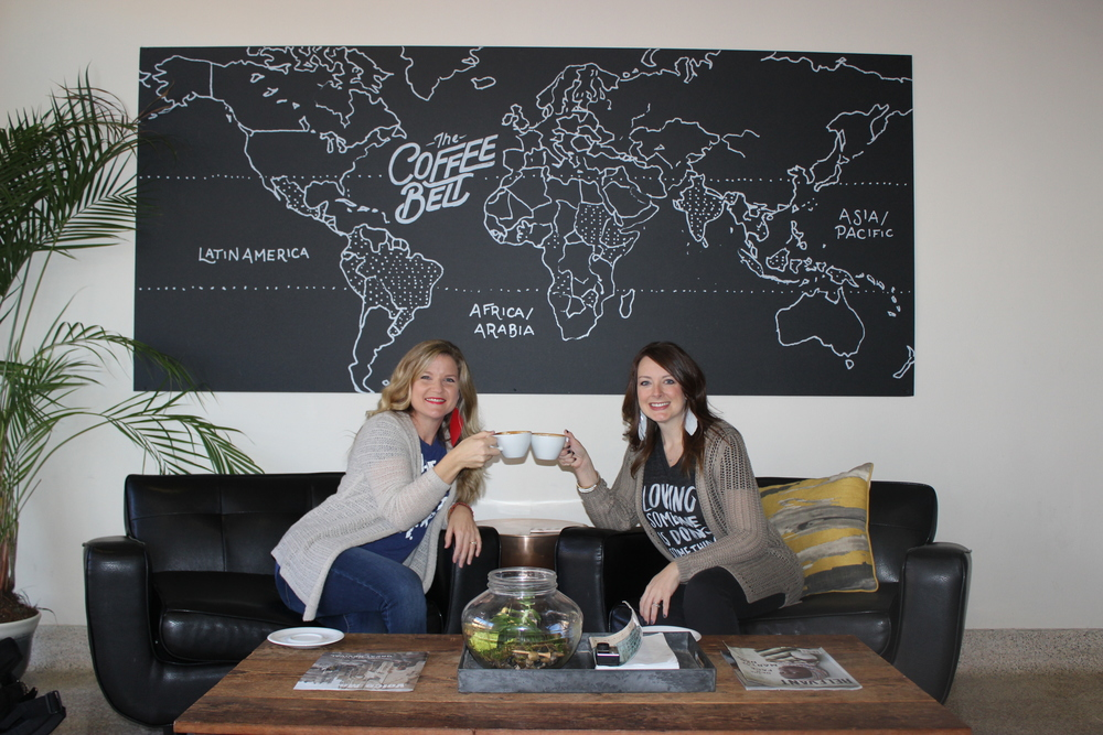 Rebecca and Traci love their local coffee shop, THE FOUNDRY, located in Tyler, Texas.