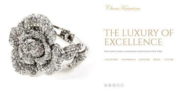 Clara Kasavina Squarespace website | Marksmen Studio