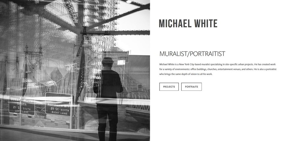 Michael White | Artist Website | Marksmen Studio Brooklyn
