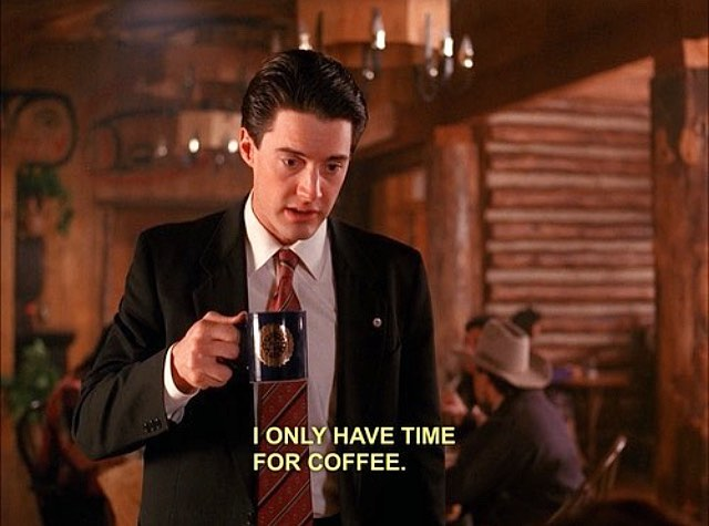 Forever-babe nailed the big mood. Happy #nationalcoffeeday ☕️🔮 We love y'all but we only have time for coffee right now!!!
