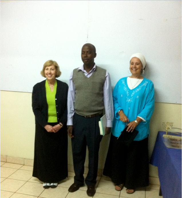BRENDA & JOAN WITH BROTHER Peter Ndungu From Limuru, Kenya