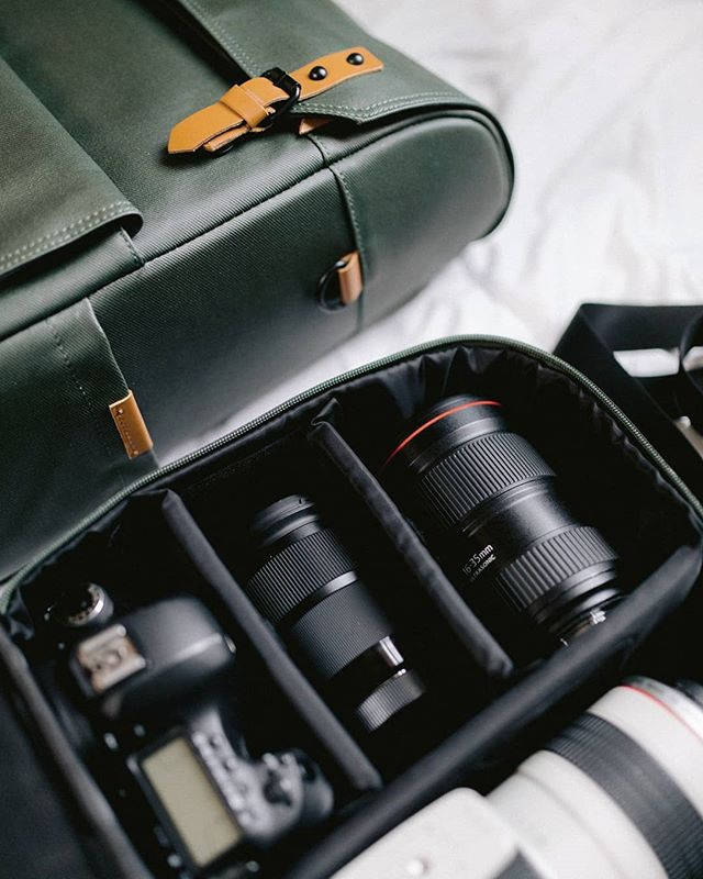 TYPE-II : Versatile for any travel goods or camera gear.  #VintaCo #TheModernTraveler #CameraBag #Travelbag