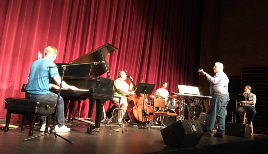 David Saffert & Bo Ayars at a dress rehearsal in Superior, Wisconsin