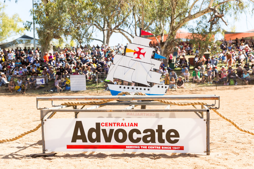 The 'anchor the boat' race, sponsored by the best paper in Australia!