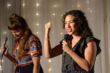 Kellie Vinal and Meisa Salaita host our new Atlanta-based show at the Highland Inn Ballroom.