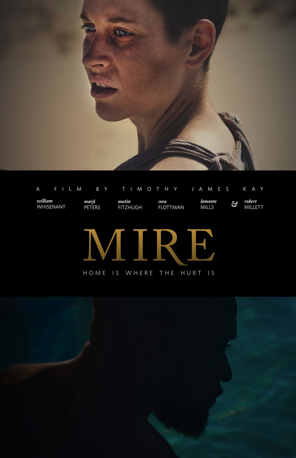 MIRE   - A young couple trying to save their marriage attempts therapy in the wake of a haunting tragedy, but when lies and secrets surface, their guilt and grief drivethem further apart. www.themirefilm.comAvailable Now on Amazon Prime