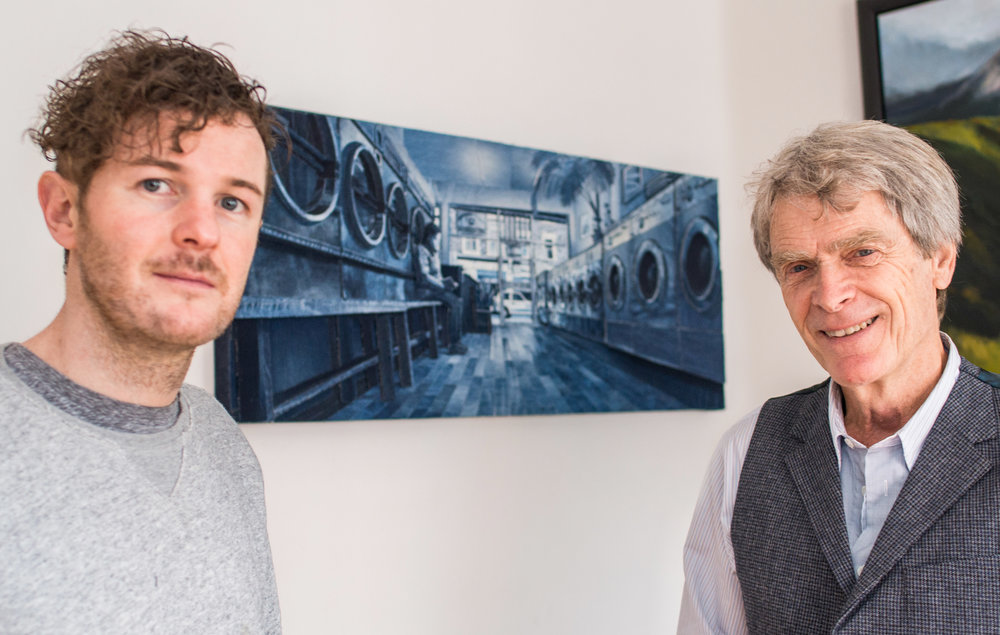 Ian Berry with Sir John Hegarty