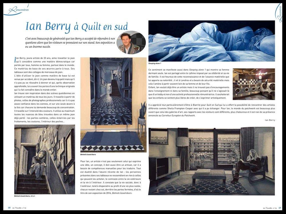 Ian Berry — Art in Denim