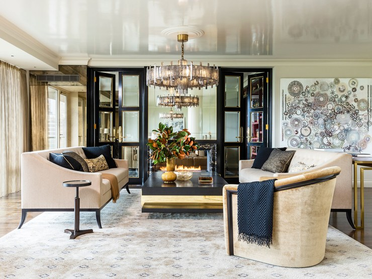 Architectural Digest An Elegant New York Apartment With Fashion