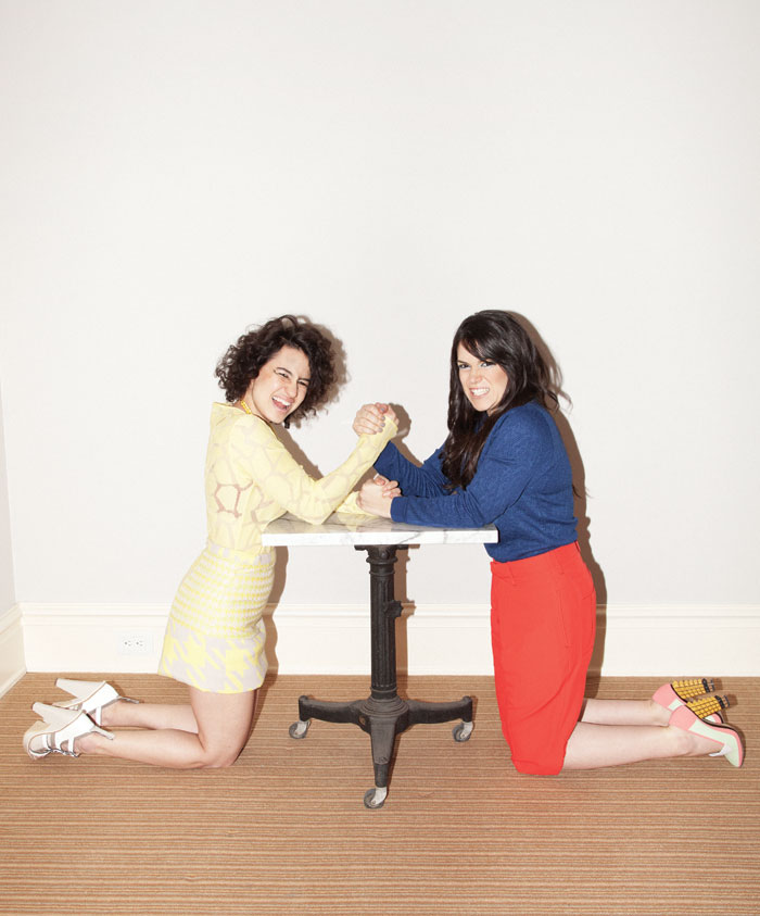 HOORAY!  The  trailer for season 2 of Broad City is HERE , now with more titty chips and jizzy-jazz.         (via  papermagazine )