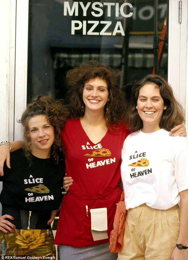 Got a Girl Crush On: The ladies of Mystic Pizza clambistro: There's so much hair and eyebrow inspiration in this photo I don't know where to look