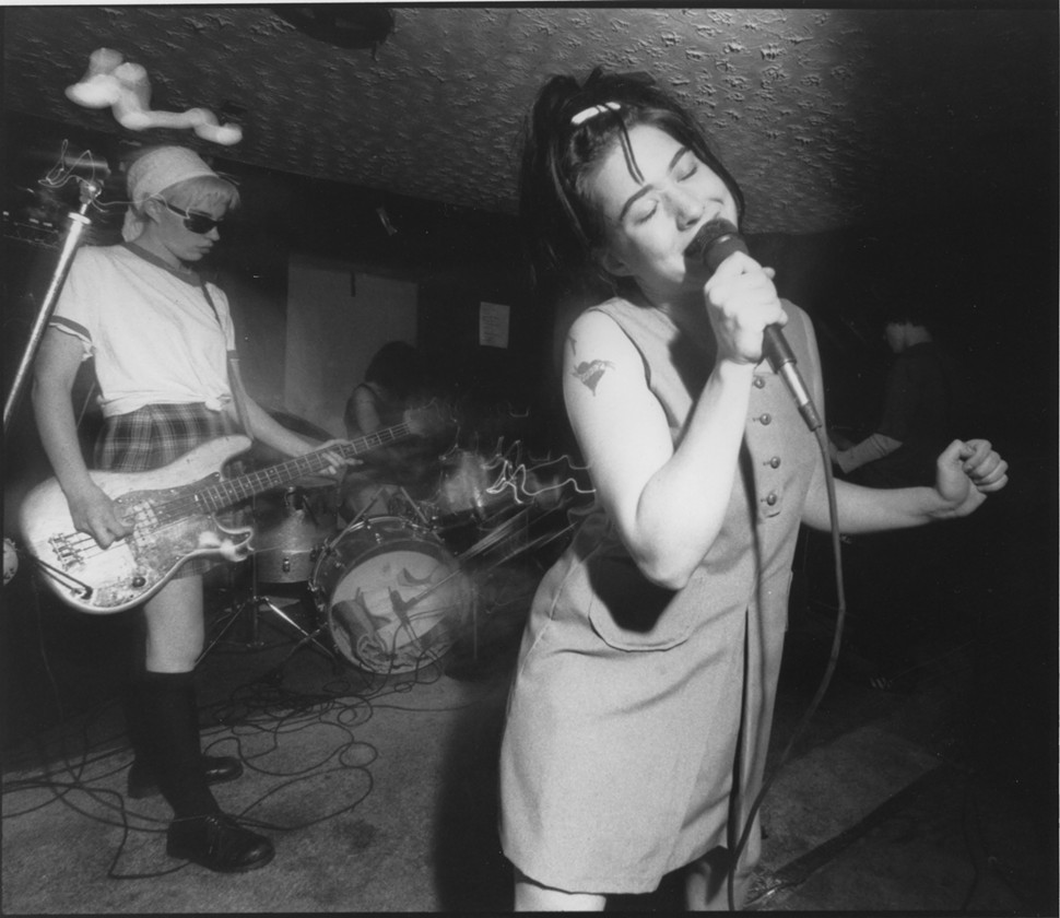 Got a Girl Crush On: Sisters Ousiders: The Oral History of the 'Bikini Kill' EP All hail!  (via grungebook: spin.com)