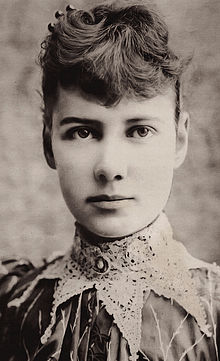 "Got a Girl Crush On: historical badass,  Nellie Bly      She went to Mexico to report on the people and their customs when she was 21. Twenty- one . That's younger than me and probably younger than you and she went to rural Mexico in 1885 to do this shit for six months. And this was a time when women did the fashion pages for the papers and not much else.     Then she went to New York because she was bored and pretended to be mad to get into a brutal women's asylum so she could report from the inside. That's some hardcore journalism in a time when conditions in those sorts of places were appalling.       "" My teeth chattered and my limbs were …numb with cold. Suddenly, I got three buckets of ice-cold water…one in my eyes, nose and mouth.""        Then in 1888, presumably just to annoy Jules Verne, she went around the world. In 72 days. And had a stop over in France to meet Verne and presumably flip him the bird.        Then she married a millionaire. You literally couldn't make this stuff up.        And then…just to confirm her position as a hardcore badass, she reported on the front. And not the Western Front, the  Eastern  front, where people were sent for ballsing up.      (via  michellelegro :  fuckyeahhistorycrushes )"
