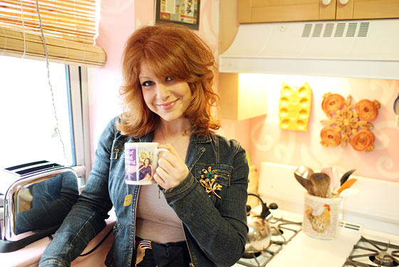 """Got a Girl Crush On: Julie Klausner's podcast """"How Was Your Week?""""    Sassy, unabashed cat-lady,  writer ,comedienne, and  podcast maven  Julie Klausner has got the corner on the modern-day version of  coffee talk .Her show """"How Was Your Week?"""" covers everything from shitty television to celeb gossip to realin'-out interviews (like  this past week's with Rookiette Tavi Gevinson, and fellow comedy gal, Jessi Klein ).   What's not to love?"""