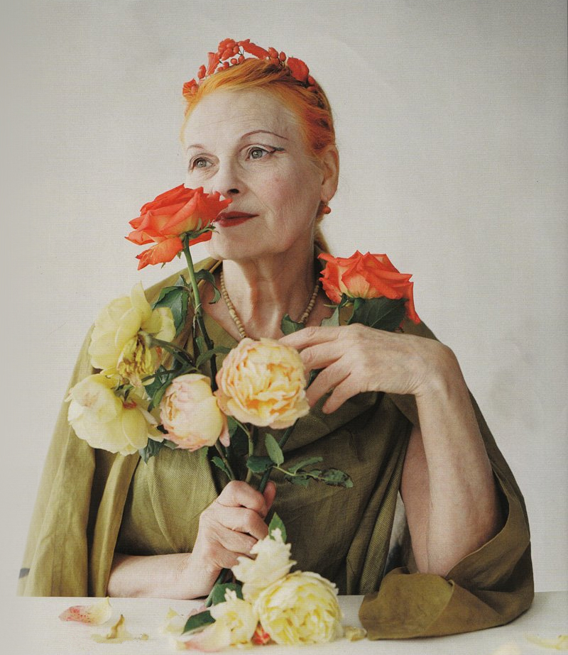 Got a Girl Crush On: Vivienne Westwood     by  Tim Walker for British Vogue
