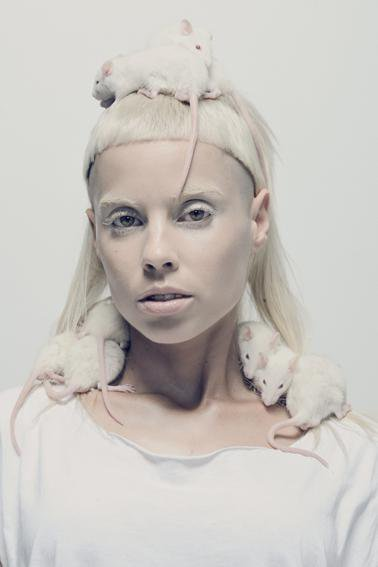 Got a Girl Crush On: Yo-Landi Visser of Die Antwoord I can't say I understand Die Antwoord entirely…but I can say girl can rock this [yet to be decided apt name] look like no one else.  And for that, much respek. - Meg