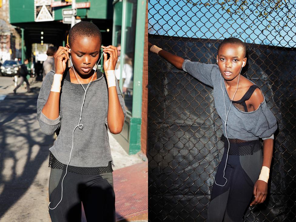 Got A Girl Crush On: Miss Tanzania,Flaviana Matata      Photograph by Matthrew Kristall; Styled by Rae Boxer; Makeup by Joanna Lily Wong.       (via  louobedlam : tmagazine )