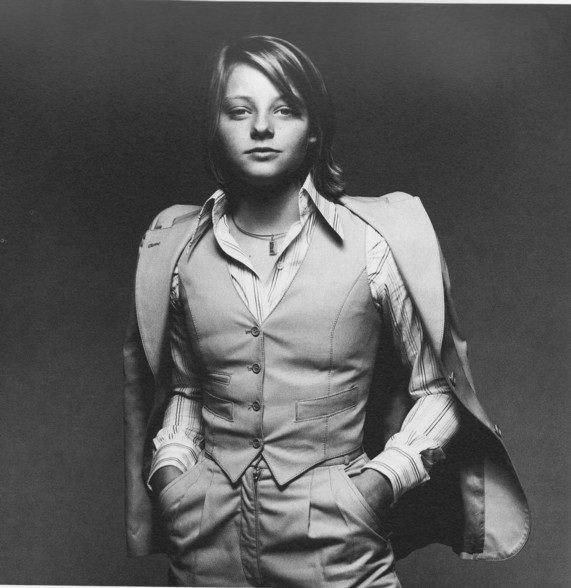 Got A Girl Crush On: a dapper young Jodie Foster (via babiamajora: theimpossiblecool)