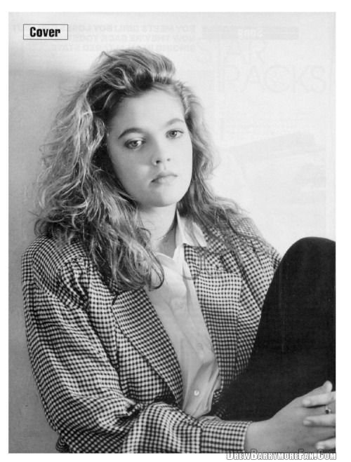 Got A Girl Crush On : A young Drew Barrymore, 1989   Not that we endorse growing up to0 quickly by partying and getting drunk when you're 11, but she was pretty hip otherwise!   (via  ringoringoringo :  missmossblog )