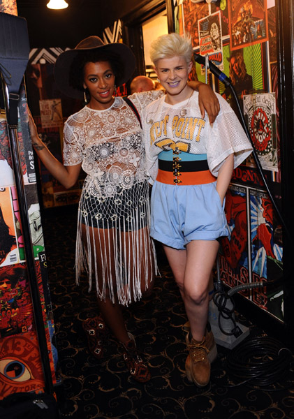 Got A Girl Crush On: Solange & Robyn hotness squared! (via stemz: comingonstrong)
